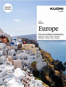 Kuoni : 8 destinations au sommaire de la nouvelle brochure Europe