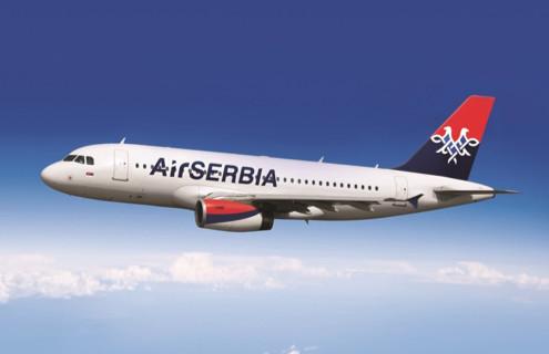 Un appareil de la compagnie Air Serbia - DR