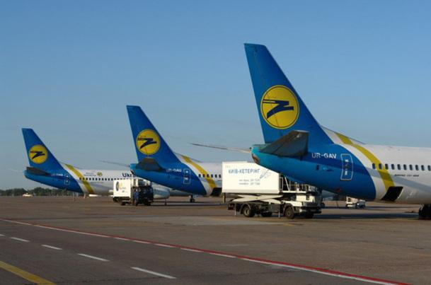 De nombreux vols sont suspendus au départ de Kiev sur les réseaux moyen et long courrier - © UIA