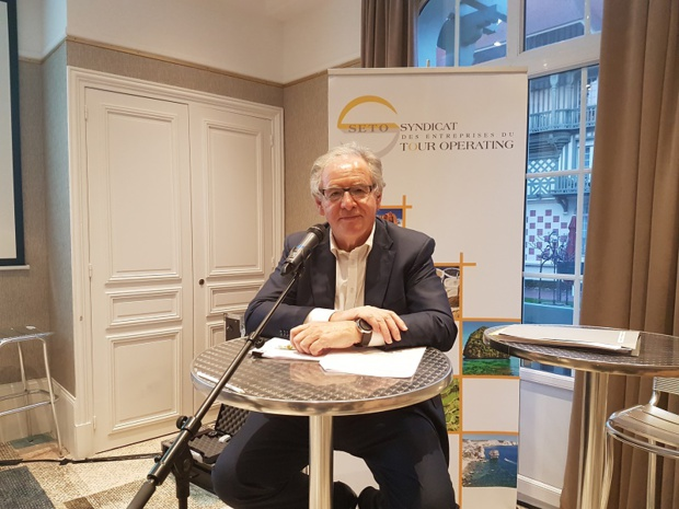 René-Marc Chikli président du SETO - DR