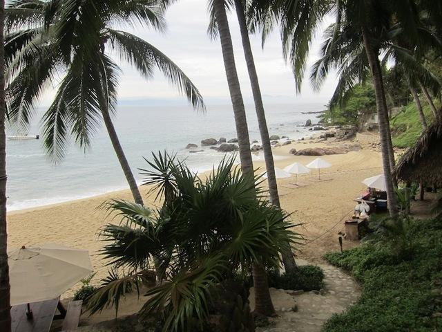 La plage du village de Pizota, accessible uniquement par bateau.DR-LAC