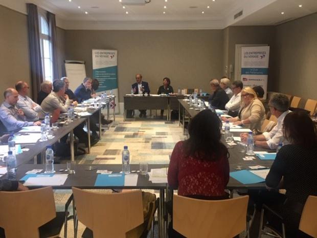 Les Entreprises du Voyage se sont réunies à Deauville du 25 au 27 octobre 2019 en présence des adhérents régionaux - DR : EDV