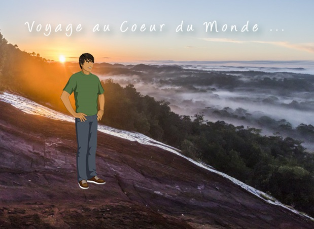 De façon ludique, les participants pourront suivre les aventures de GreenBe, un touriste français qui découvre la Guyane et l'Amazonie - DR