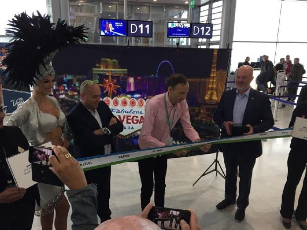 Le vol inaugural de Level entre Paris et Las Vegas a décollé, le 30 octobre 2019, avec ses 314 premiers passagers - DR : Level