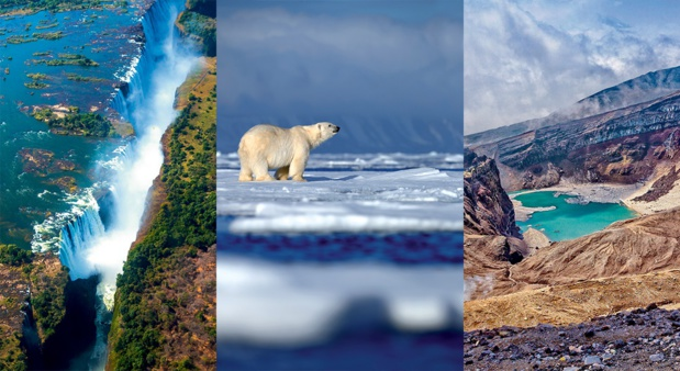 De Bornéo, au Groenland en passant par le Spitzberg et l'Antarctique, cette brochure-catalogue présente 13 croisières inédites. - DR