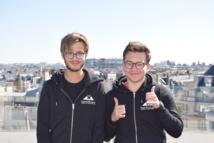 Léo Tordjman et Ugo Weyl les deux fondateurs de Koala, actuellement incubée à Techstars - Crédit photo : Koala