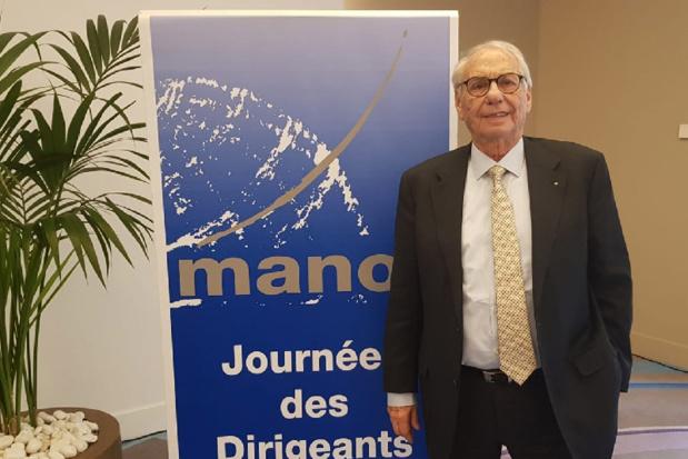Jean Korcia, président du réseau Manor aux Journées des Dirigeants organisées à Monaco - Photo CE