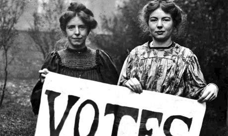 Les suffragettes qui se sont battues au 19e pour le droit au vote des femmes /photo dr