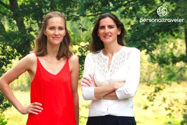 Béatrice Peyrelongue et Hélène Chatillon, fondatrices de Personal Traveler - DR