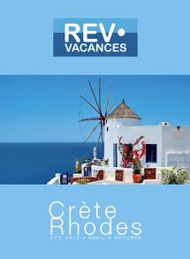 Rev Vacances : la brochure Crète - Rhodes arrive en agences