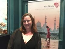 Sophie Salcedo, directrice de l'Office de Tourisme d'Abu Dhabi en France. - CL