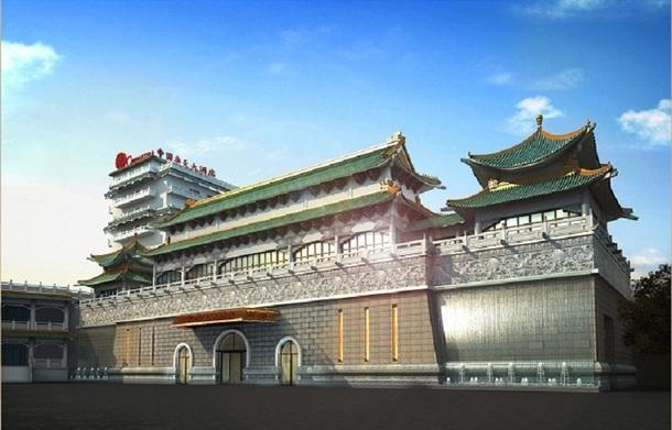 Si le restaurant de Chinagora devrait ouvrir ses portes en mai 2012, l'ensemble des travaux sera terminé en 2013 - Photo DR