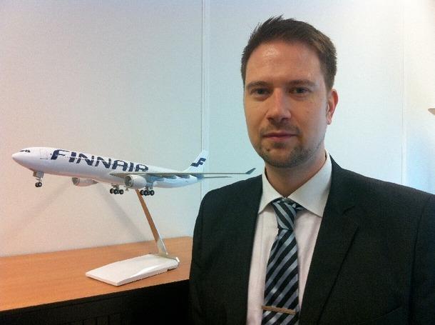 Jean-Michael Nigmann devient le nouveau Directeur des ventes Europe/Sud chez Finnair - Photo DR