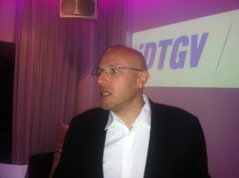 """""""IDTGV est ainsi devenu le porte-voix des clients de la SNCF"""", selon Paul Sessego, directeur général d'IDTGV - Photo BF"""