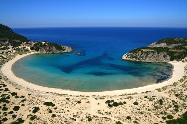 La superbe baie de Messinia sert d'écrin au Costa Navarino. DR