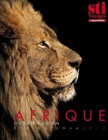 La couverture du la brochure Afrique été 2012 - DR