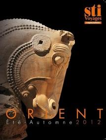 La couverture de la brochure Orient été 2012 - DR