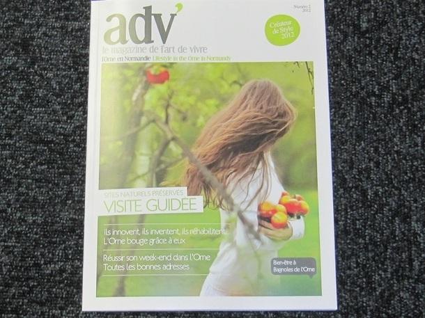 Le magazine adv' du CDT de l'Orne est publié tous les ans - Photo PC