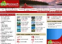 Vacances Transat lance Canadavision.fr