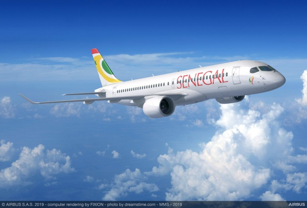 Air Sénégal commande 8 Airbus A220