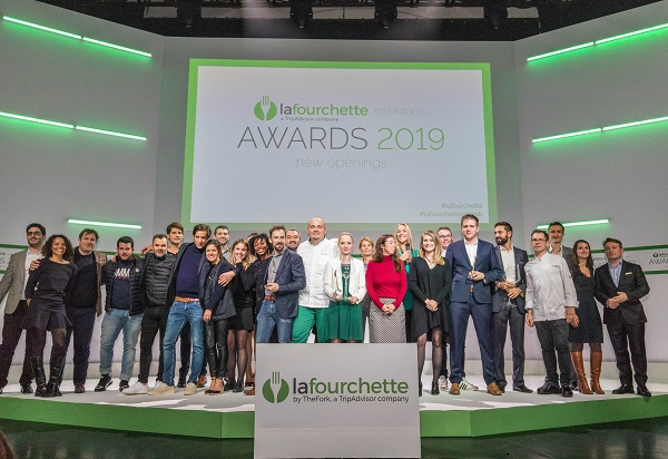 La Fourchette a inauguré le 1er Prix Grand Public de la Gastronomie - Crédit photo : Awards 2019