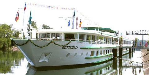 CroisiEurope positionne le MS Botticelli au centre de Londres