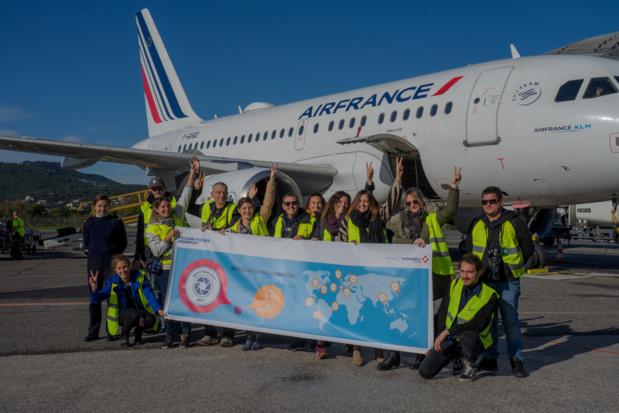 Lors des Spotters Days 2019 à l'aéroport de Toulon-Hyères © Vinci