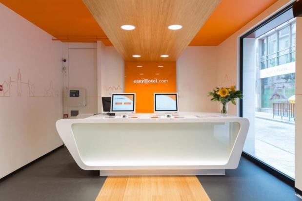 Le premier easyHotel de France vient d'ouvrir ses portes à Nice © DR