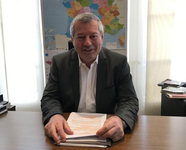 """Roland Héguy : """"ce partenariat est inopportun et il est outrageux de faire de cette entreprise qui joue de la déréglementation dans tous les pays du monde, un partenaire mondial du CIO"""" - DR : DG"""