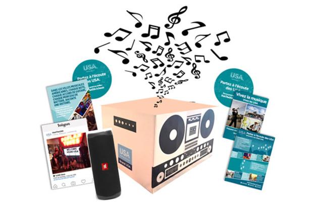 USA Music Box