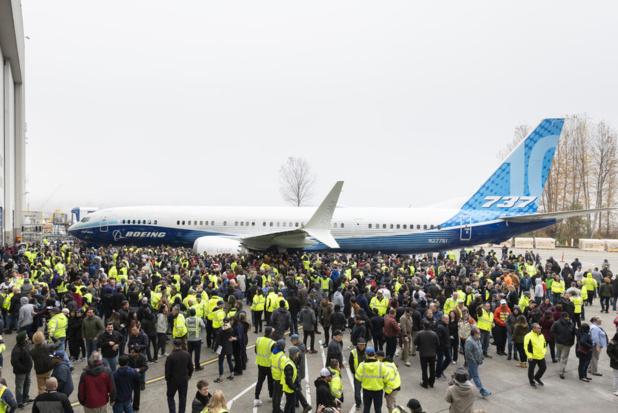 A Renton (Washington), le 22 novembre © Boeing