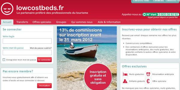 Lowcostbeds.fr affilie 150 agences en 3 jours...