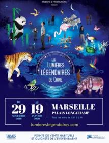 Les lumières légendaires de Chine débarquent à Marseille