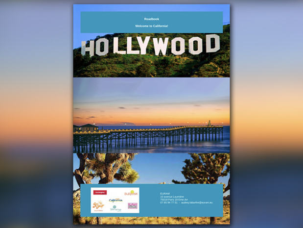 Roadbook généré sur la plateforme Planisto d'EURAM