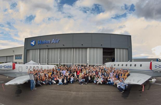 Entre distribution et lignes régulières, Hahn Air compte aujourd'hui 300 employés et des bureaux partout dans le monde © Hahn Air