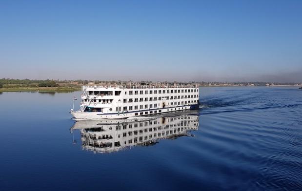 Le Nile Azur est l'un des bateaux commercialisés par Travel Evasion sur le Nil - DR : A.B.