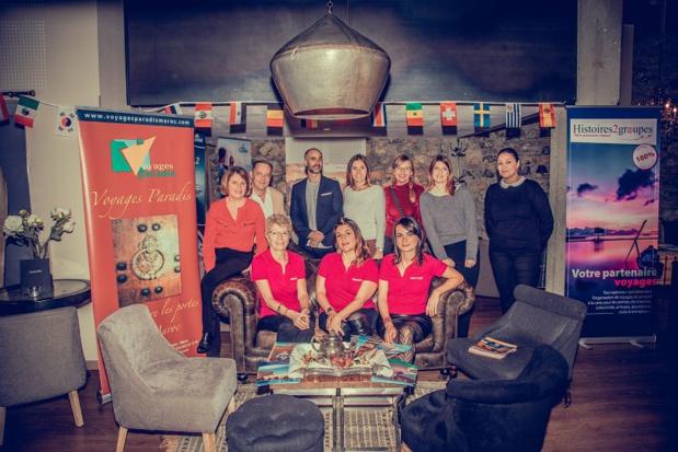 Histoires de Groupes a mis à l'honneur 7 partenaires lors de la 2e édition des Ateliers du Voyage - DR : Studio Fablani