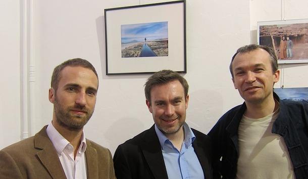 Vincent Tréhu, Xavier Gaumer et Arnaud Levallet, les trois amis à l'origine d'Aventureo - DR : L-A.C