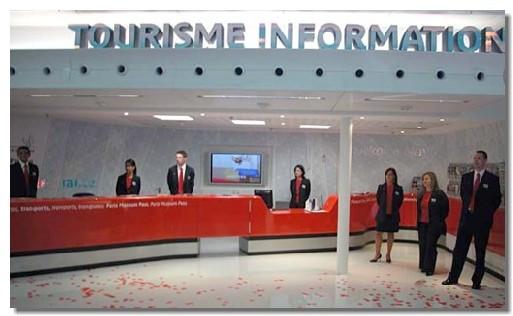 Roissy : un nouvel Espace ''Accueil Information'' sur le tourisme francilien