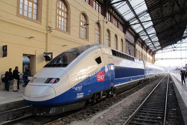 La SNCF prévoit prévoit la circulation d'un TGV, d'un Transilien et d'un Intercités sur 10 en moyenne, 1 TER sur 5 et un trafic très perturbé sur le réseau international - Photo JDL