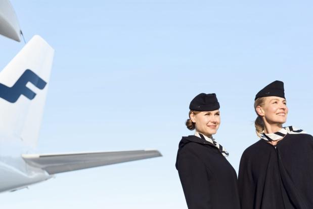 Déjà présente à raison de 5 vols par jour entre Paris-CDG et Helsinki, Finnair lance une sixième rotation dès mars 2020 © Finnair