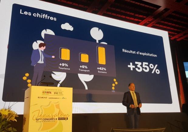 Selon Jean-Noël Lefeuvre, directeur général, l'activité du réseau a augmenté de 9% sur la partie loisirs, 5% sur la partie aérienne, représentant une augmentation de 42% de commissions. Avec un résultat d'exploitation global de +35% - DR : C.E.