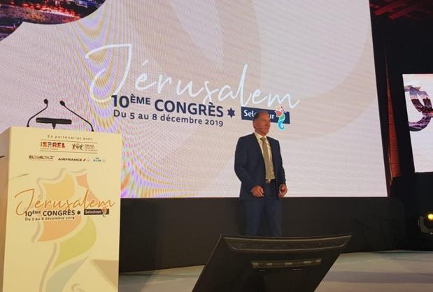 Jean-Noël Lefeuvre a appelé les adhérents à s'engager dans les outils technologiques du réseau - Photo CE
