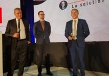 Jean-Marie Seveno, président du GIE ASHA, Maciej Stasierski co-fondateur de WonderMiles etJean-Noël Lefeuvre directeur général de Selectour - Photo CE