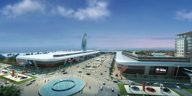 Abu Dhabi veut également se positionner sur ce marché avec le centre de Nice de 80.000 m2 - DR