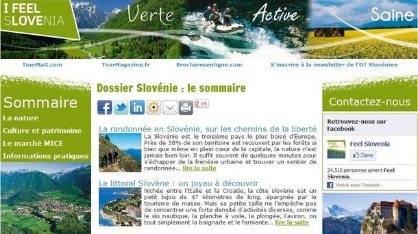 Le dossier destination dédié à la Slovénie est en ligne sur TourMaG.com - DR