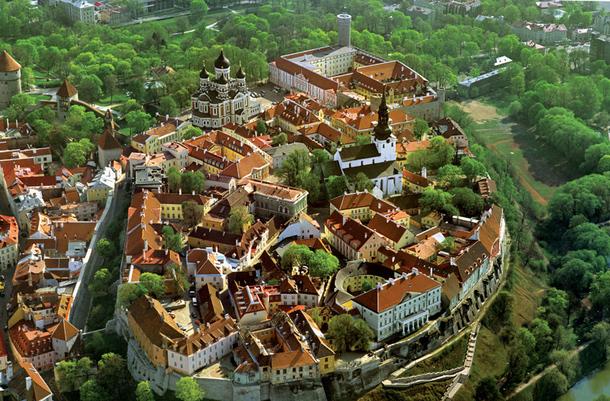 La vieille ville de Tallinn et son dédale de ruelles médiévales - DR