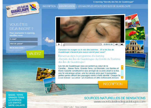 La Guadeloupe lance son nouvel e-learning