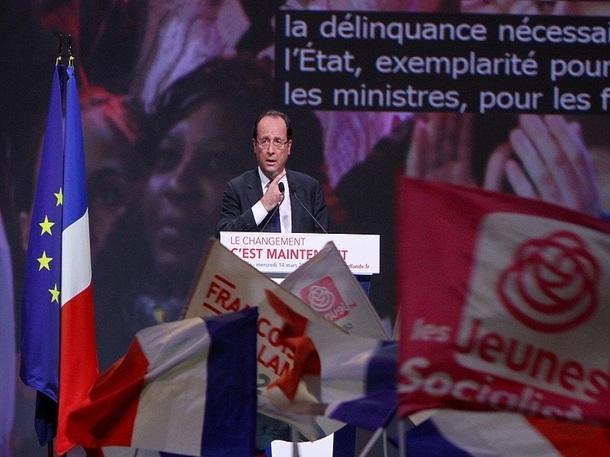 François Hollande, candidat à l'élection présidentielle 2012, livre ses propositions pour le Tourisme en France - Photo Parti Socialiste