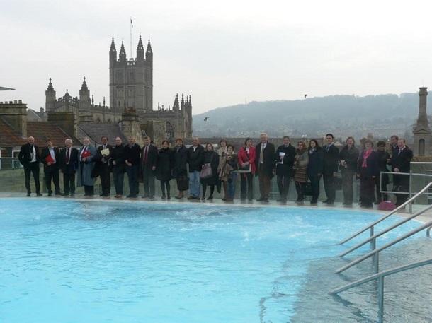Les membres de l'EHTTA étaient réunis à Bath, au Royaume-Uni, les 21 et 22 mars 2012 - Photo DR